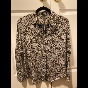 Express Cheetah Blouse
